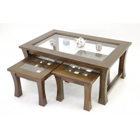 Set de 3 tables basses Blang