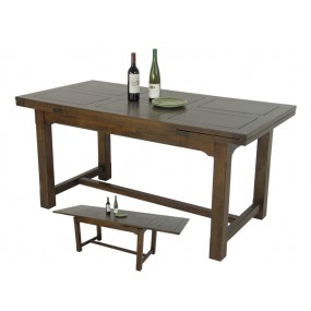 Table repas 2 extensions Teuton