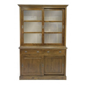 Bibliothèque 2 tiroirs 4 portes Teuton