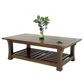 Table basse rectangle Khmer
