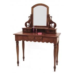 Coiffeuse 3 tiroirs 1 miroir Yugur
