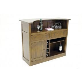 Bar 1 porte 2 tiroirs Kubu