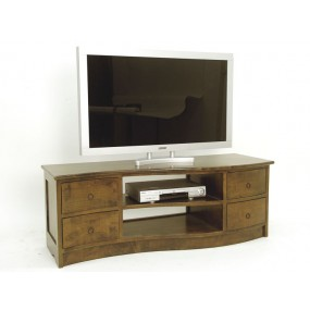 Meuble TV forme vague 140cm