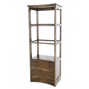 Colonne 3 tiroirs convexe Kubu