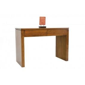 Console bureau 2 tiroirs - finition personnalisable