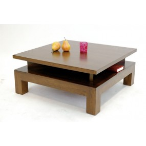 Table basse carrée 4 niches Moken