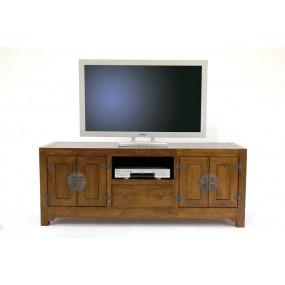 Meuble TV 4 portes 1 tiroir Hmong