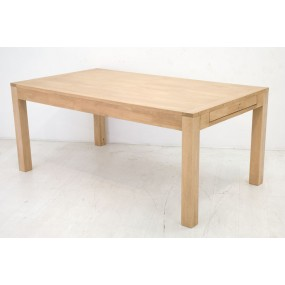 Table repas rectangle grand modèle + 2 extensions Sami