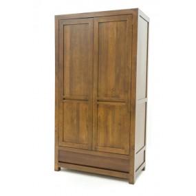 Armoire 2 portes 1 tiroir Sami
