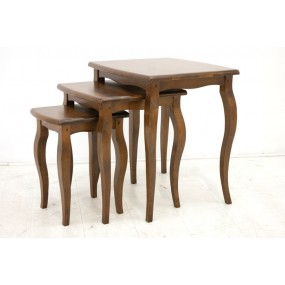 Set de 3 tables gigognes Yugur