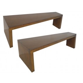 Set de 2 tables basses Moken