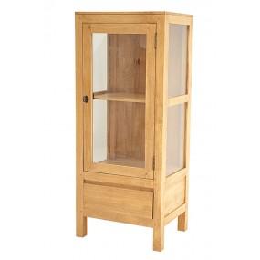 Etagère salle de bain 1 tiroir 1 porte Slave