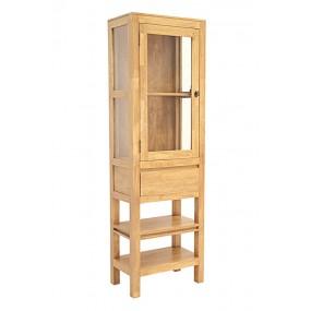 Etagère salle de bain 1 tiroir 2 niches 1 porte Slave