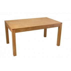 Table repas rectangle petit modèle avec 2 extensions Sami