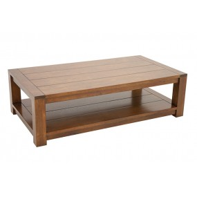 Table basse rectange double plateau Batave