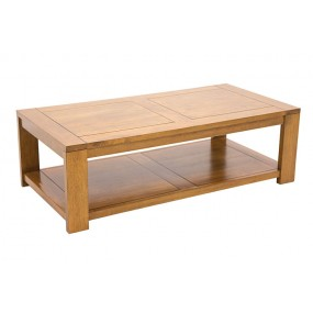 Table basse rectangle Etrusque