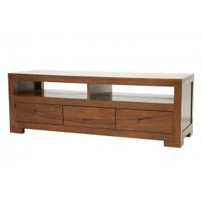 Meuble TV 3 tiroirs Harari
