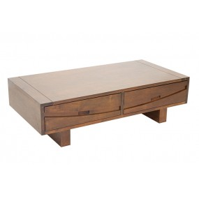 Table basse 2 tiroirs Harari