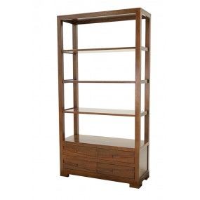 Bibliothèque 4 tiroirs Harari