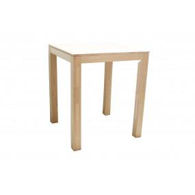 Table repas carrée haute Moken