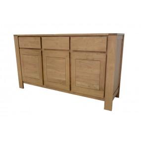 Buffet 3 portes 3 tiroirs Etrusque