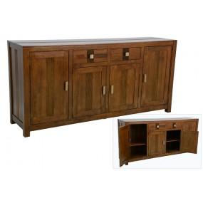 Enfilade 4 portes 2 tiroirs Rapanui