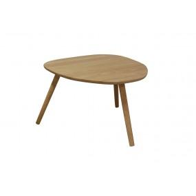 Grande table basse ovale démontable Parsi