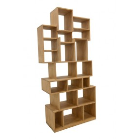 Bibliothèque cubes 95x221x45cm Moken