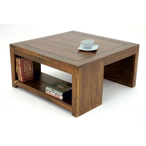 Table Basse Carree 1 Niche Hindi Par Nomadde Mobilier Design