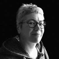 Portrait de Frédérique Meuble d'encre