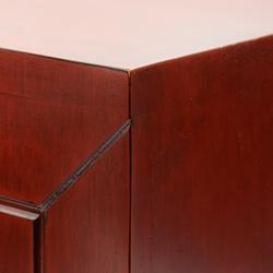 Echantillon couleur personnalisable rouge Siam