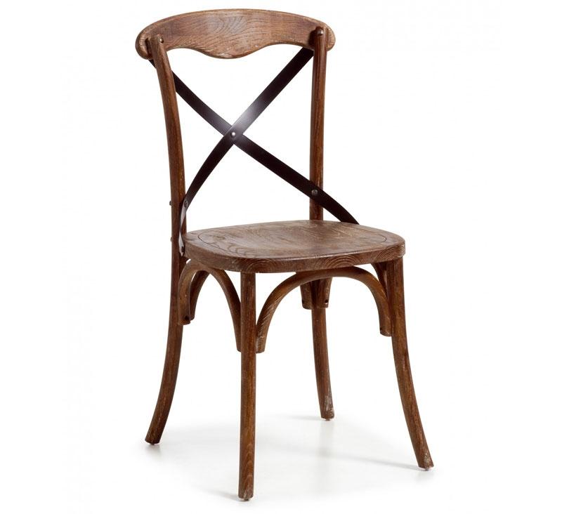 Chaise dos croisé