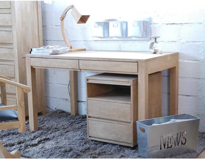 Table bureau scandinave